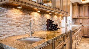 Production and installation of counter tops, stairs, window sills, fireplaces
