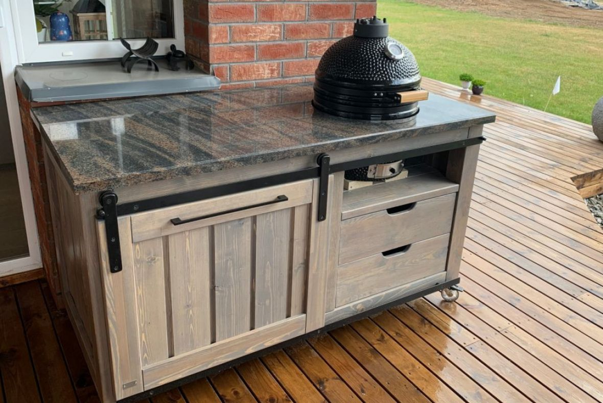 Granite countertops - resistant to scratches, moisture, bacteria and heat even up to 800C