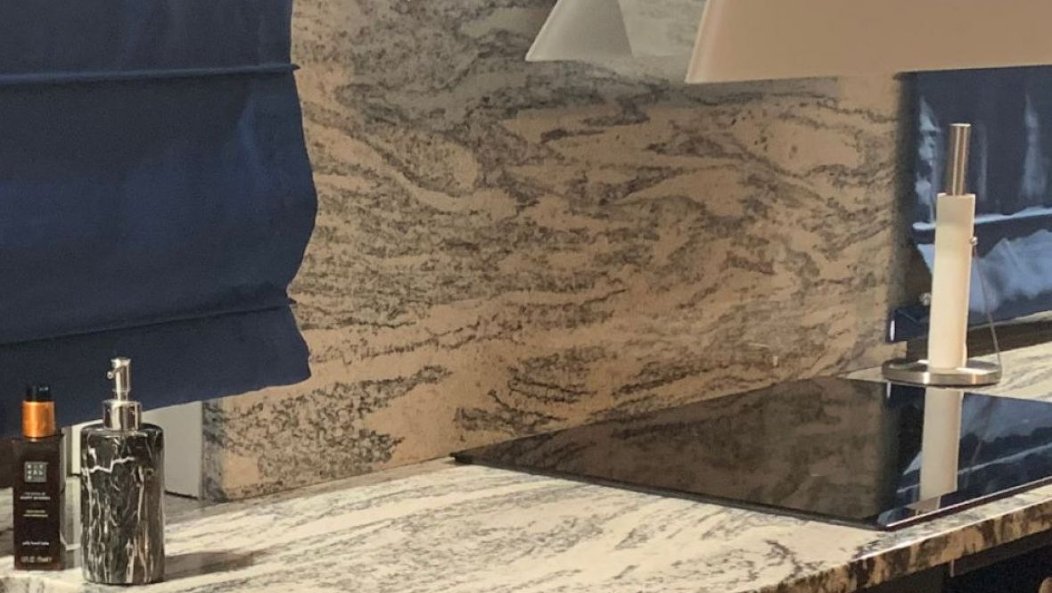 Granite is one of the most popular types of rocks, valued for its diversity and strong structure